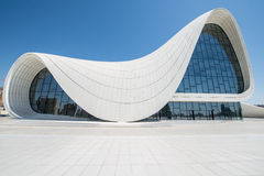 Heydar Aliyev Center Stock Photography