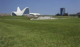 Heydar Aliyev Center en Baku Imágenes de archivo libres de regalías