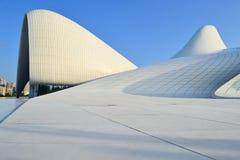Heydar Aliyev Center. Exhibition gallery in Baku Stock Photography