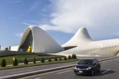 Heydar Aliyev Center i Baku, Azerbajdzjan Heydar Aliyev Center w Royaltyfri Fotografi