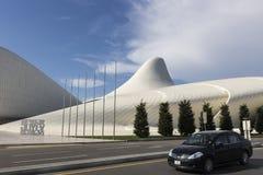 Heydar Aliyev Center i Baku, Azerbajdzjan Heydar Aliyev Center w Arkivfoto