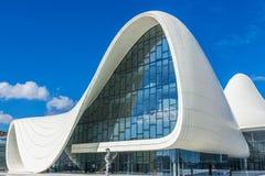 Heydar Aliyev Center Museum in Baku, Azerbaijan Stock Photos