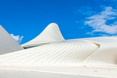 Heydar Aliyev Center Museum in Baku, Azerbaijan Royalty Free Stock Photo