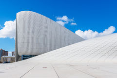 Heydar Aliyev Center Museum in Baku, Azerbaijan Stock Images