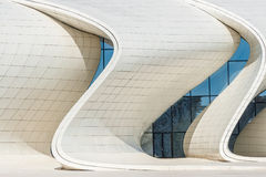Heydar Aliyev Center Museum in Baku, Azerbaijan Royalty Free Stock Photos
