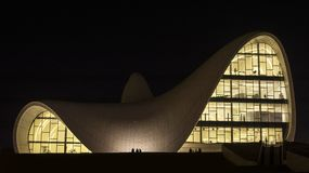 Heydar Aliyev Center Stock Photography
