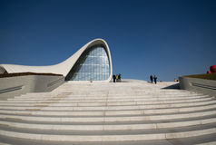 Heydar Aliyev Cultural Center Fotografia Stock