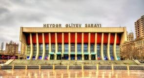 Heydar Aliyev Palace in Baku royalty free stock images