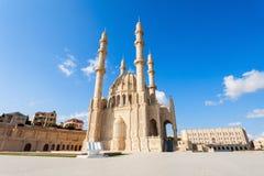 Heydar Mosque i Baku Arkivfoton