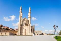 Heydar Mosque i Baku Arkivfoto