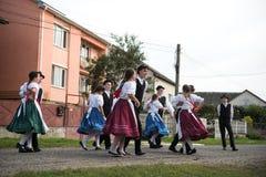 HEYIVCI UKRAINA, WRZESIEŃ, - 09, 2016: Żniwo dnia świętowanie wewnątrz Fotografia Royalty Free