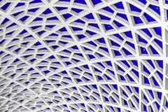 Hexagonal pattern detail stock photography