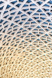 Hexagonal pattern detail Stock Images
