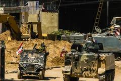 Hezbollah en de oorlog van Israël in 2006 Stock Fotografie