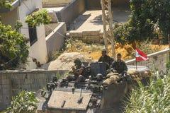 Hezbollah en de oorlog van Israël in 2006 Royalty-vrije Stock Afbeeldingen