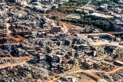 Hezbollah en de oorlog van Israël in 2006 Stock Foto
