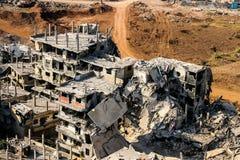 Hezbollah en de oorlog van Israël in 2006 Stock Foto's