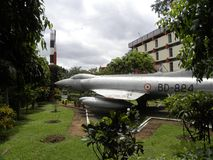 Bangalore, Karnataka, India - September 5, 2009 HF-24 supersonic combat Aircraft. HF-24 combat Aircraft, has improved navigation systems and sophisticated Royalty Free Stock Image
