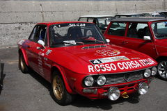HF Lancia Фульвии Стоковая Фотография