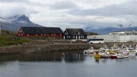Höfn Village Iceland Stock Photography