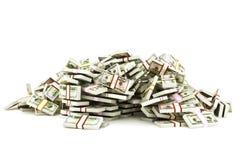 Hög av pengar Royaltyfria Foton