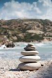 Hög av stenar Arkivfoton