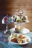 hög tea Royaltyfri Fotografi