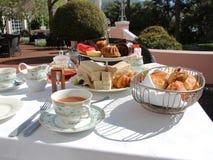 hög tea Royaltyfria Foton