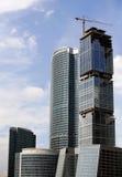 höga byggnader Royaltyfria Bilder