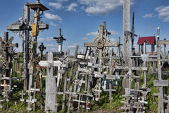 Hügel der Kreuze, Litauen Stockfotos