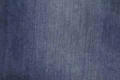 Högt upplösning specificerad textur av jeans för abstrakt begreppblåttgrov bomullstvill Royaltyfri Bild