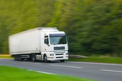 hgv卡车 免版税库存图片