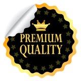 Högvärdig kvalitets- klistermärke Royaltyfria Foton