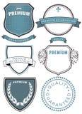 Högvärdiga kvalitets- symboler Royaltyfri Fotografi