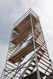 högväxt material till byggnadsställning Royaltyfria Bilder