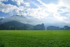 Hhematte Interlaken Suiza Foto de archivo libre de regalías