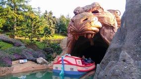 Höhle DISNEYLANDS PARIS Aladin Lizenzfreies Stockfoto