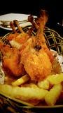 Hühnertrommelstock Stockbild