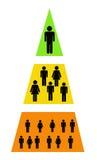Hiérarchie illustration libre de droits