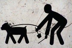 Hiéroglyphes modernes image libre de droits