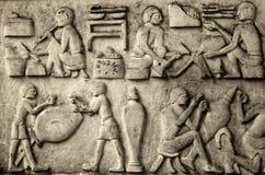 hiéroglyphique Image libre de droits