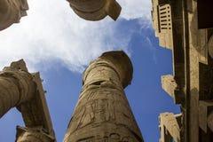 De Tempel van Karnak in Luxor. Egypte Stock Afbeelding