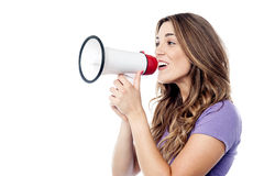 Hi all, please listen to me! Royalty Free Stock Image
