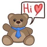 Hi bear Royalty Free Stock Image