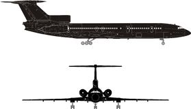 Free Hi-detail Jet Silhouette Stock Photography - 4658512