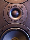 Hi-Fi [12]. Front of loudspeaker Stock Images