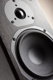 Hi-Fi Acoustic System Close-up Royalty Free Stock Photos