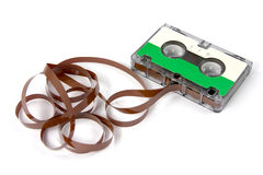 Hi-fi audio cassette Royalty Free Stock Photos