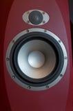 Hi-Fi Audio System. Hi-Fi Acoustic Audio System Close Up Stock Image