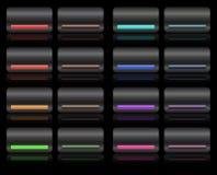Hi-Fi buttons Royalty Free Stock Image